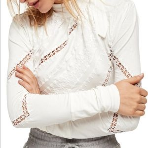 Free People: Victoria Top in White